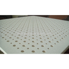 Gypsum Board Standard Size Perforated Acoustic Ceiling Tile