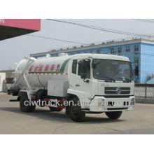Dongfeng tianjin 4x2 camion pompe à eaux usées avec camion-citerne de nettoyage
