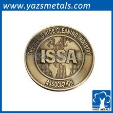 emblemas metálicos personalizados para a indústria mundial de limpeza