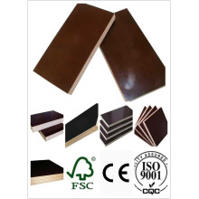 Hardwood Core Plywood WBP Glue Brown Film First Grade 1220*2440 Size