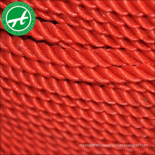 outdoor safety rope plastic rope nylon twist rope