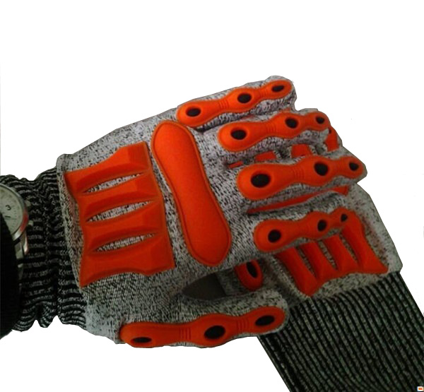 Wearable Kpu Glove Hard Cover Machine