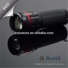 Zoomable факел проблескового света, фарфор верхней части 10 продавая продукты водить проблесковый свет, логос компании факела логоса