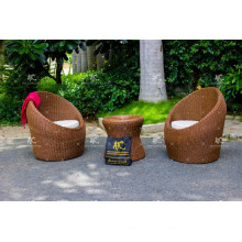 Hervorragendes Design Poly Rattan Kaffee Set Für Outdoor Garten aus Vietnam
