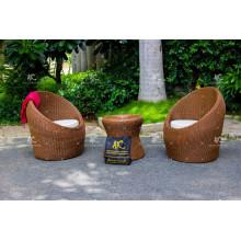 Outstanding Design Poly Rattan Coffee Set For Outdoor Garden from Vietnam