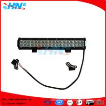 108W luz LED Barra de Spot de trabajo de la lámpara para SUV Car Boat ATV Offroad Truck Forklift