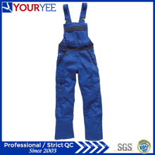 Custom Made Two Tone Workwear Bib and Brace Overalls (YBD115)