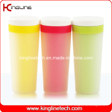 400ml Plastic Double Layer Cup Lid (KL-5006)