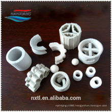 25mm Ceramic Ring super intalox saddle for chemical( professional saddle novalox manufacturer)