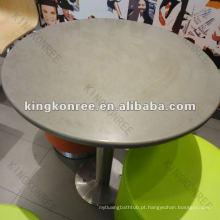 KKR mesa de centro real de superfície maciça