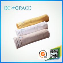 Asfalto ampliamente utilizado 100% Nomex filtro de aire calcetín