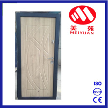 2017 New Design & Craft PVC Steel Door with Good Lock