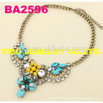 simple crystal necklaces