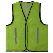 Mesh Fabric Reflective Vest with PVC Tape