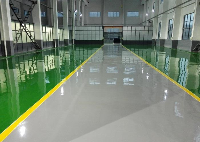 Epoxy Cement Concrete Self Leveling Floor