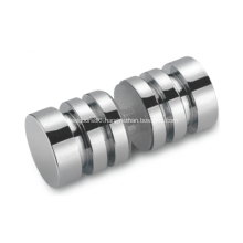 Contemporary Style Back-to-Back Shower Door Knob