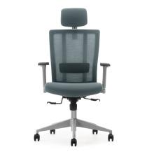 Chaise de bureau exécutif couleur gris pour bureau ou bureau à domicile