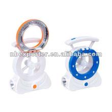 LED rechargeable mini fan