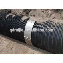 steel plastic pipe extruder