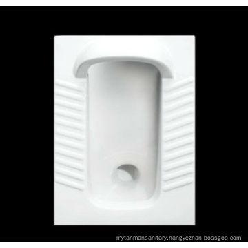 High Quality Ceramic Squatting Pan Toilet With Fender (DA3090-1)