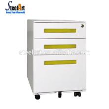 Luoyang Büro Metall 3 Schubladen Mobil Aktenschrank