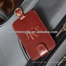 Alta qualidade de etiquetas de bagagem de couro