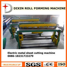 Dx equipamento de corte de folha de metal elétrico