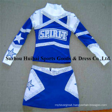 2016 Long Sleeve Cheerleading Uniforms