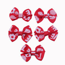 Red Grosgrain Ribbon Bow