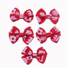Red Grosgrain Cinta Arco