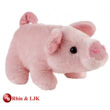 Conozca EN71 y ASTM estándar de juguete suave de color rosa cerdo