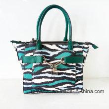 Gunagzhou Fornecedor Moda Mulheres PU Snake Handbags (NMDK-052707)