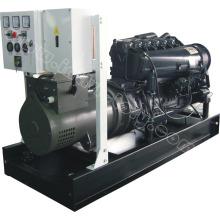 6.7kVA Baja ruidosa Mitsubishi motor diesel generador para uso doméstico