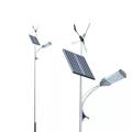 Farola solar complementaria eólica-solar