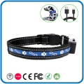 Glow In The Dark Blinking Reflective Pet Dog Collars