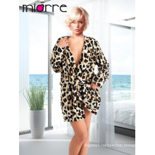 MIORRE WELLSOFT HOUSECOAT DRESSING GOWN ROBE LEOPARD