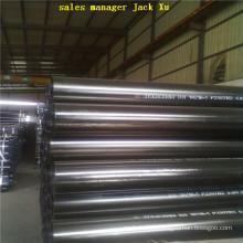Tuyau de ligne API ASTM A53 grade B structure sans soudure Tuyau d'acier E355 ST 52,4, 50 X 6 mm sans soudure en acier au carbone tuyau