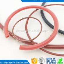 Sellado de alta densidad Sello de goma recubierto o anillo de viton o-ring cubierto por teflón PTFE Cubierta o anillos redondos