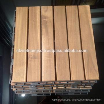 Piso de madera para los muebles al aire libre / la teja bloqueada de la cubierta de DIY Nuevo diseño 2017
