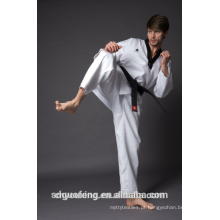 calças de artes marciais personalizadas, desgaste de taekwondo, roupas de artes marciais