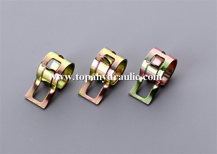Hydraulic heavy duty spring hose clamps