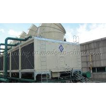 Torre de enfriamiento rectangular de flujo cruzado certificada CTI Jnt-280UL / M