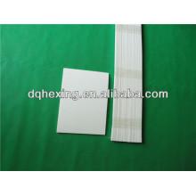 Placa de PTFE semielaborada pura / reciclado de 2-5 mm