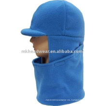 El sombrero y la bufanda del paño grueso y suave de la manera fijaron