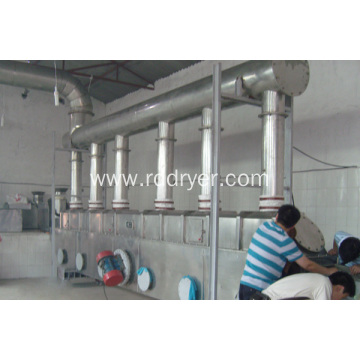 Drying machine for water dispersible granules