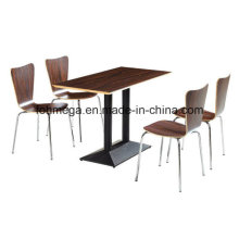 New Modern Furniture Cheap Plywood Table Chair (FOH-BC19)
