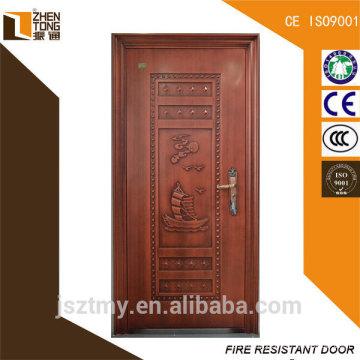 Chino frente exteriores puertas de acero para la venta