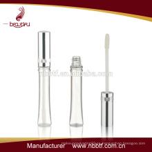 Aluminio y tubo de brillo de labios de plástico al por mayor