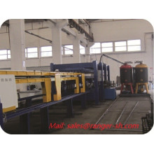 Haute qualité discontinu PU mousse Sandwich Panel Machine Chine fournisseur