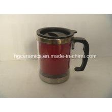 Taza del cambio del color del acero inoxidable, taza